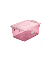 LATCH CLEAR PINK ORGANIZER 7.5 LITERS