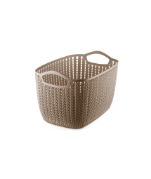 TALL PLASTIC TAPERED BASKET - M