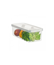 PLASTIC BOX F/ VEGERABLES AND SALAD - S