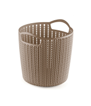 WIDE PLASTIC TAPERED BASKET - XL