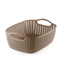 WIDE PLASTIC TAPERED BASKET - M