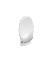 WHITE OVAL HOOK - L