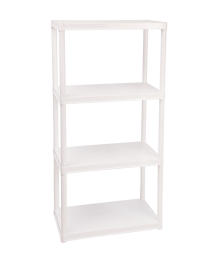 TUBULA RACKS W/ 4 SHELVES