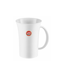 WHITE PLASTIC MUG 460 ml