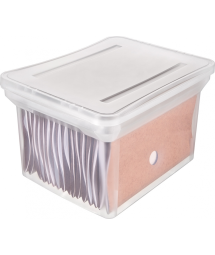 STACKABLE WIDE FILE BOX