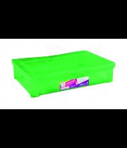 GREEN PLASTIC ORGANIZER WIDTH 29L