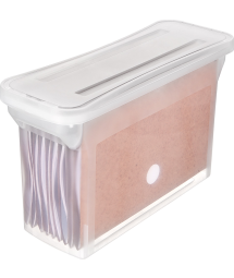 STACKABLE NARROW FILE BOX