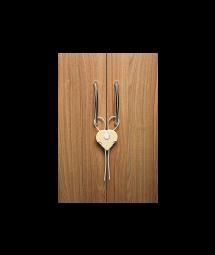 CABINET HEART LOCK