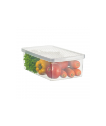 Plastic box f/ vegetables and salad - M