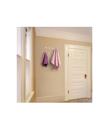 HANGER WITH 4 METAL AND CERAMIC HOOK - WALL