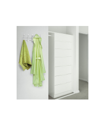 HANGER WITH 5 METAL AND CERAMIC HOOKS - WALL